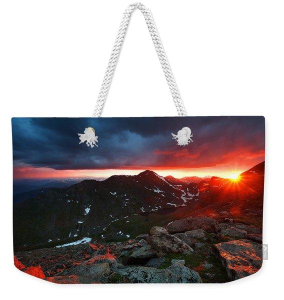 Goodnight Kiss Weekender Tote Bag