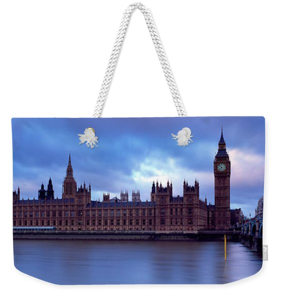 Government Building At The Waterfront Weekender Tote Bag