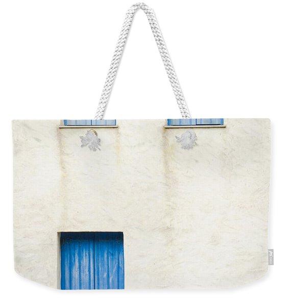 Greek House Weekender Tote Bag