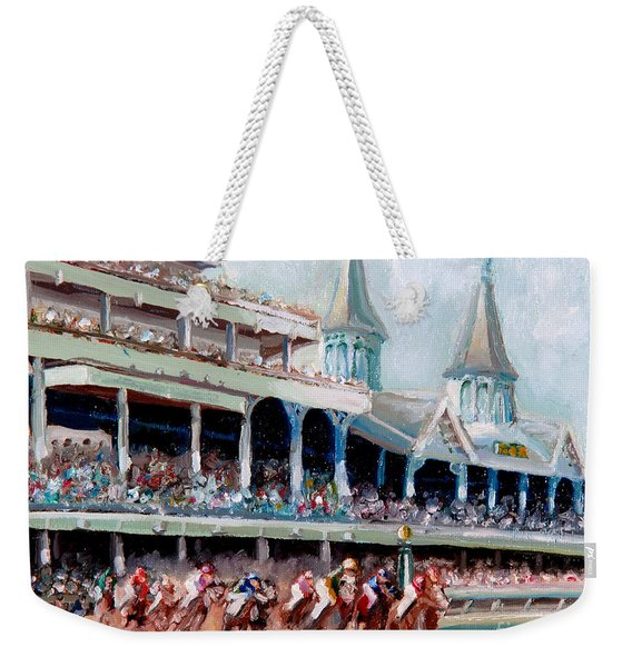 Kentucky Derby Weekender Tote Bag