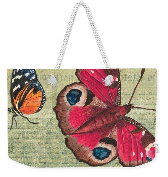 Le Papillon 1 Weekender Tote Bag