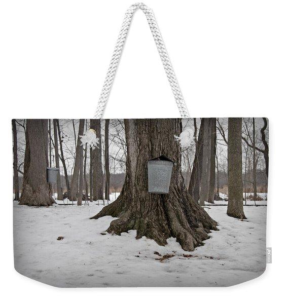 Maple Sugaring Weekender Tote Bag