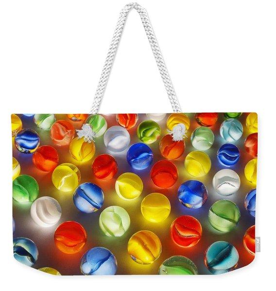 Marbles Weekender Tote Bag