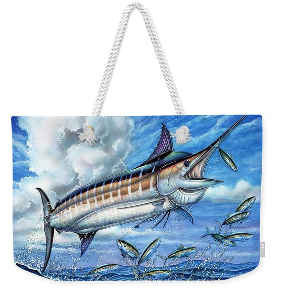 Marlin Queen Weekender Tote Bag