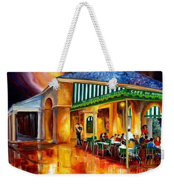 Midnight At The Cafe Du Monde Weekender Tote Bag