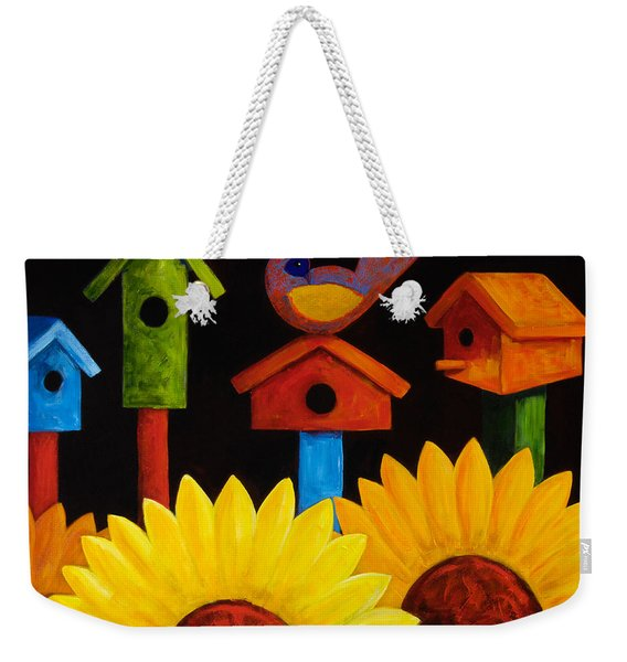 Midnight Garden Weekender Tote Bag