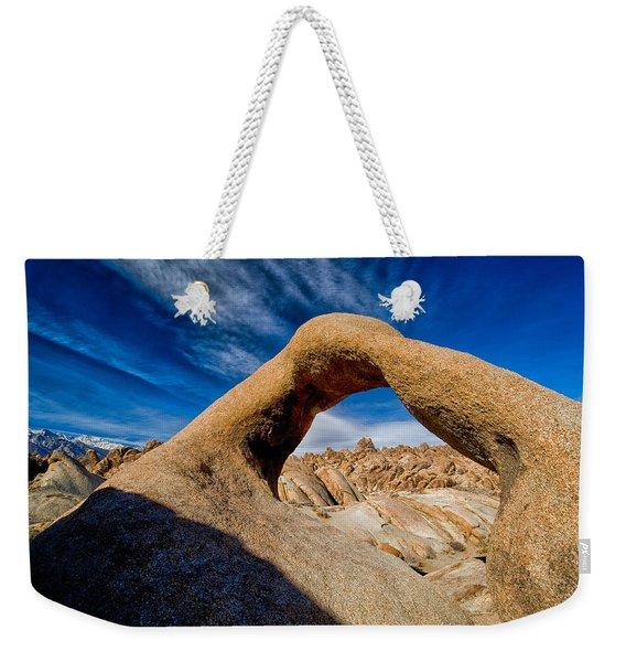 Mobius Arch Weekender Tote Bag