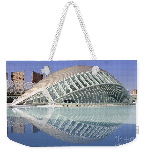 The Hemisferic In Valencia Spain Weekender Tote Bag