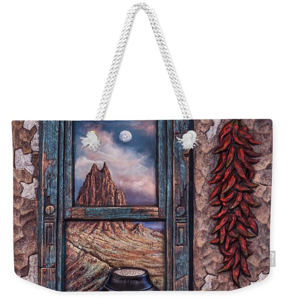 New Mexico Window Weekender Tote Bag