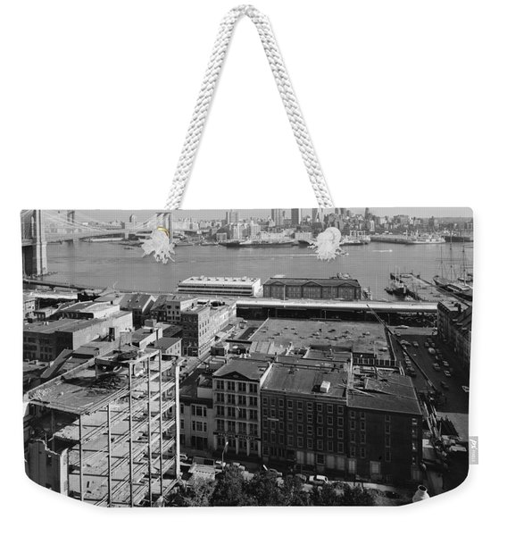 New York Water Street Weekender Tote Bag