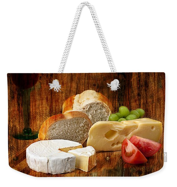 Norwegian Jarlsberg And Camembert Weekender Tote Bag
