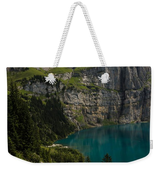 Oeschinensee - Swiss Alps - Switzerland Weekender Tote Bag