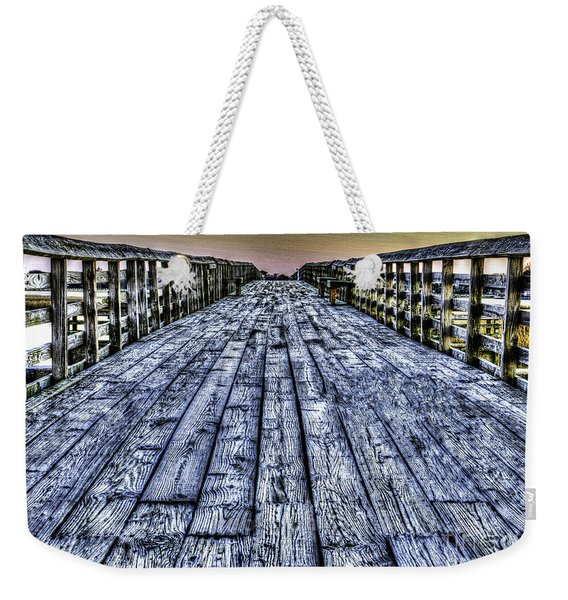 Old Pitt St Bridge Weekender Tote Bag