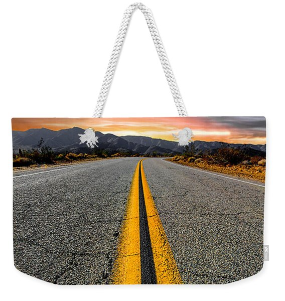 On Our Way  Weekender Tote Bag