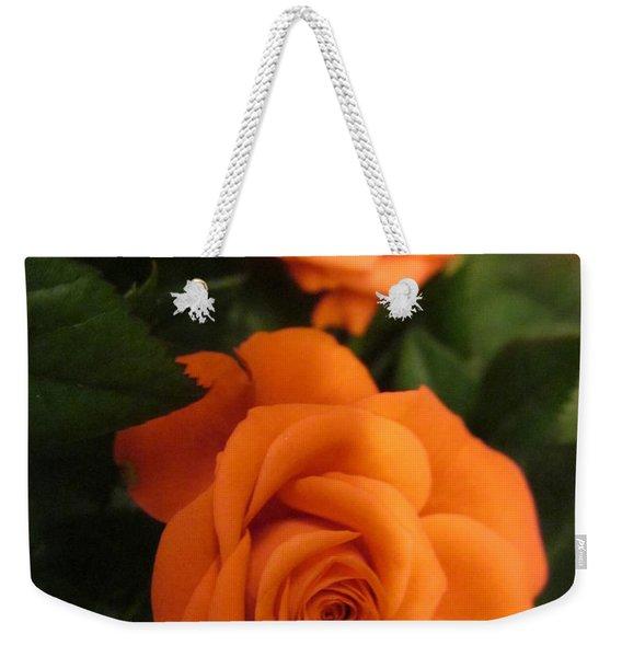 Orange Delight Weekender Tote Bag