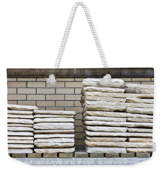 Paving Slabs Weekender Tote Bag