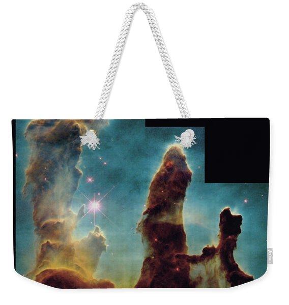 Pillars Of Creation Weekender Tote Bag