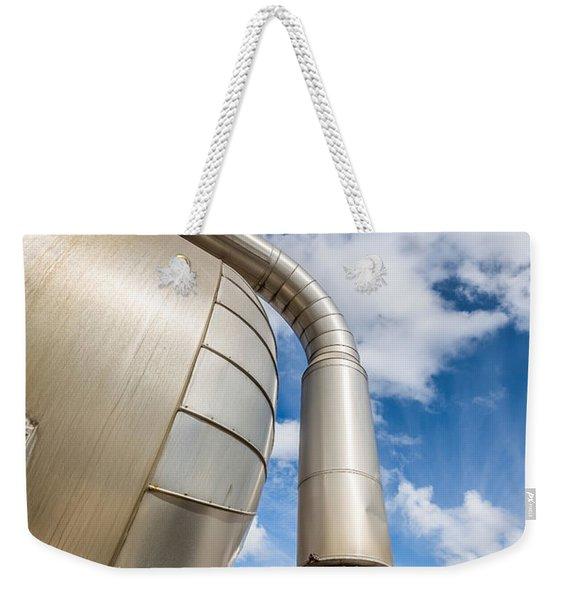 Pipes At Nesjavellir Geothermal Power Weekender Tote Bag