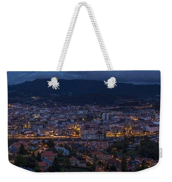 Pontevedra Panorama From A Caeira Weekender Tote Bag