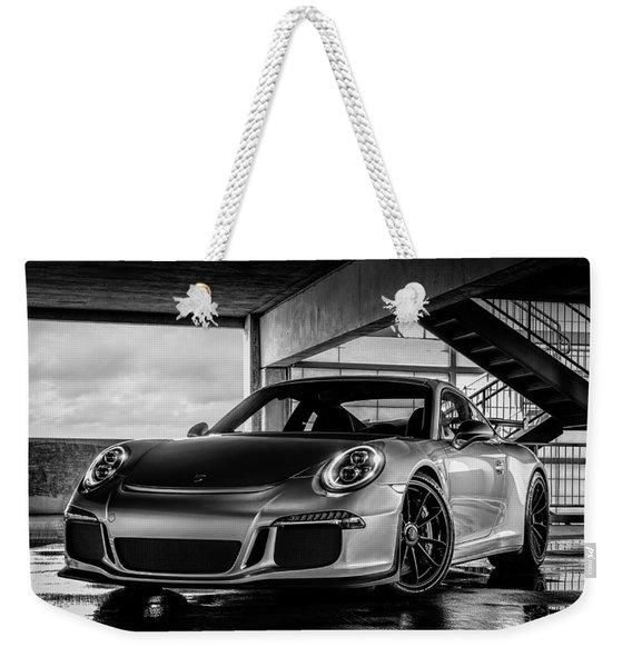 Porsche 911 Gt3 Weekender Tote Bag