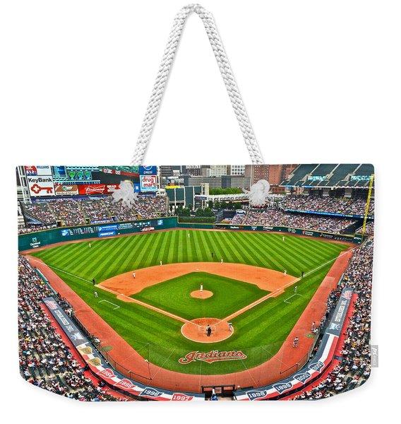 Progressive Field Weekender Tote Bag