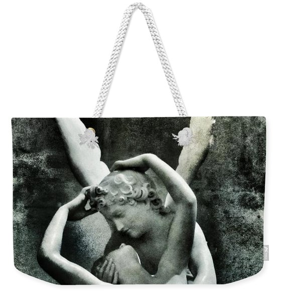 Psyche Revived By Cupid's Kiss Weekender Tote Bag