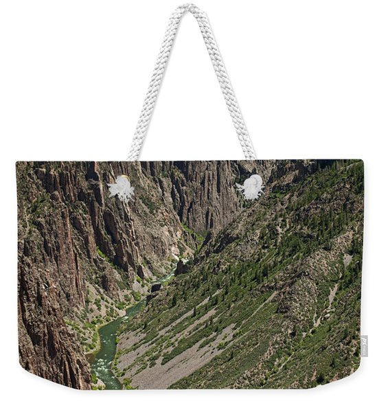 Pulpit Rock Overlook Black Canyon Of The Gunnison Weekender Tote Bag