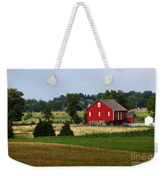 Red Barn Gettysburg Weekender Tote Bag