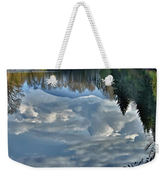 Reflections Of Autumn Weekender Tote Bag