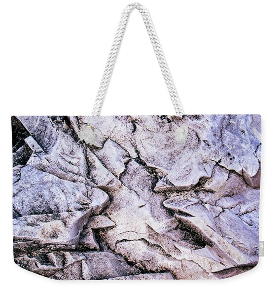 Rocks At Georgian Bay Weekender Tote Bag