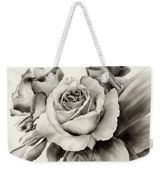 Rose Bouquet Weekender Tote Bag