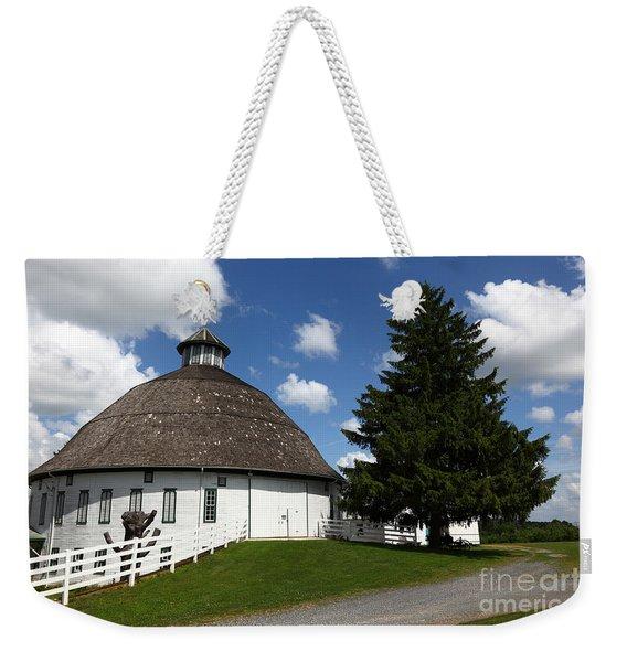 Biglerville Round Barn Near Gettysburg Weekender Tote Bag