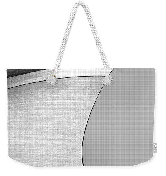 Sailcloth Abstract Number 4 Weekender Tote Bag