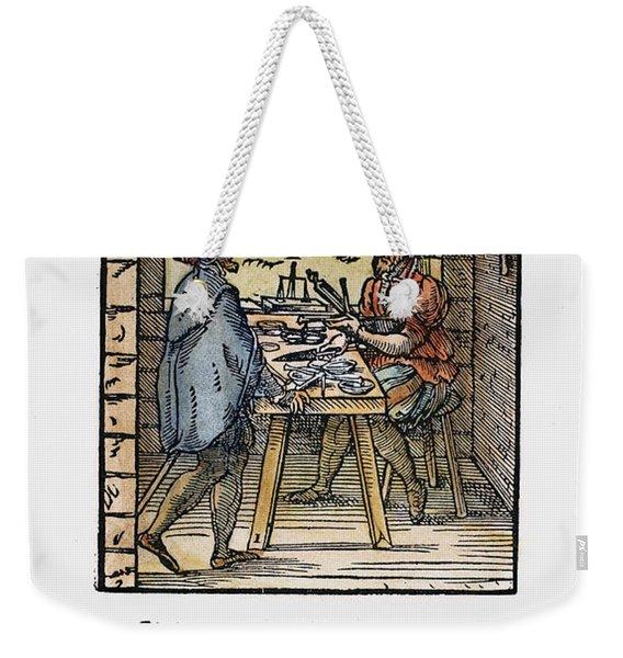 Scale Maker, 1568 Weekender Tote Bag