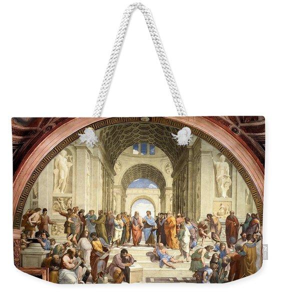 School Of Athens Weekender Tote Bag
