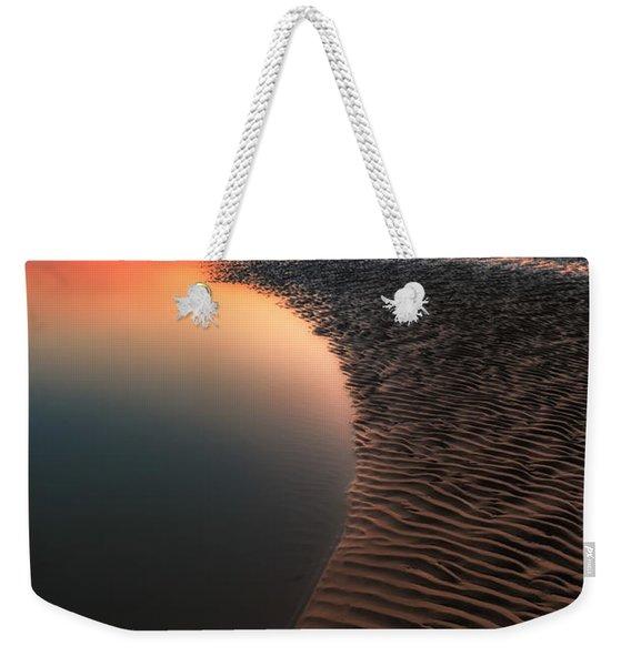 Seascape Sunset Weekender Tote Bag