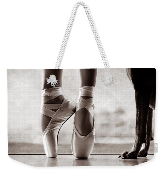 Shall We Dance Weekender Tote Bag