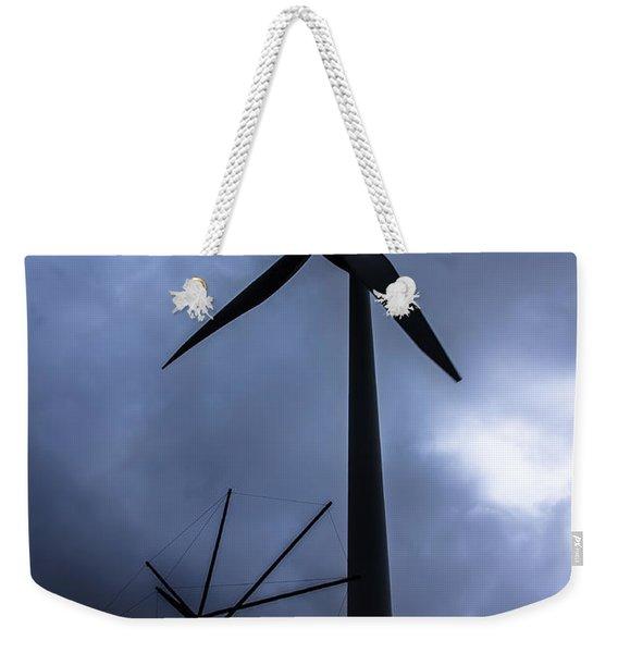 Side By Side Weekender Tote Bag