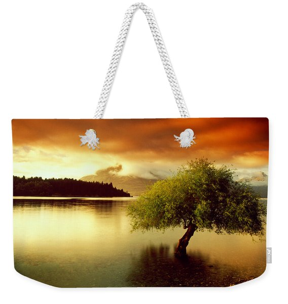 South Island New Zealand Weekender Tote Bag