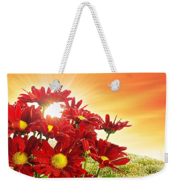 Spring Blossom Weekender Tote Bag