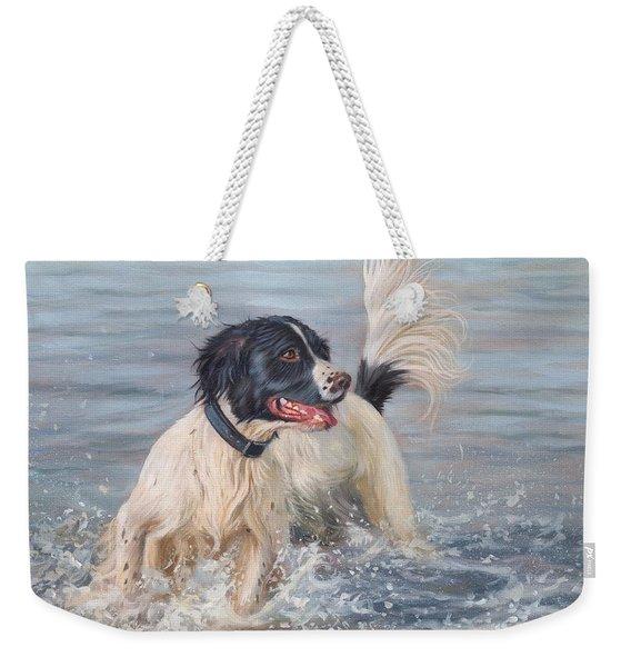 Springer Spaniel Weekender Tote Bag