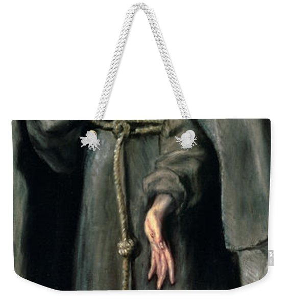 St Francis Of Assisi Weekender Tote Bag
