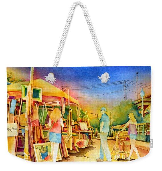 Street Art Fair Weekender Tote Bag