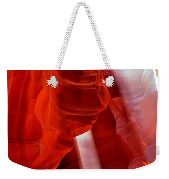 Sunlight Passing Through Rock Weekender Tote Bag