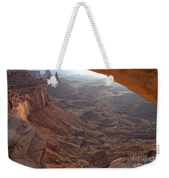 Sunrise Mesa Arch Canyonlands National Park Weekender Tote Bag