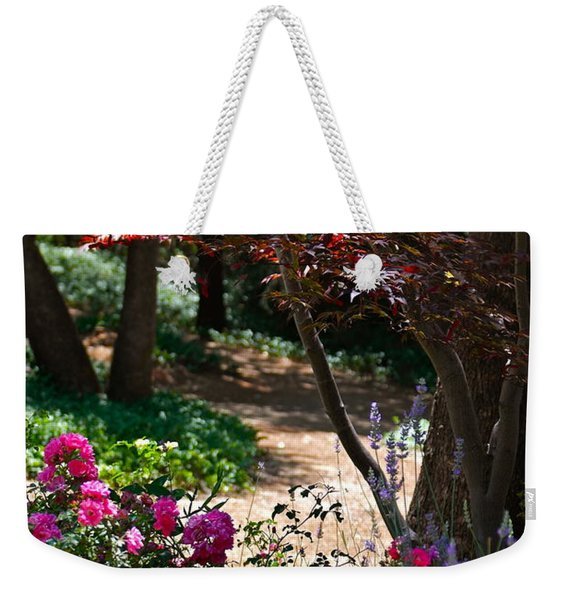 The Garden Path Weekender Tote Bag