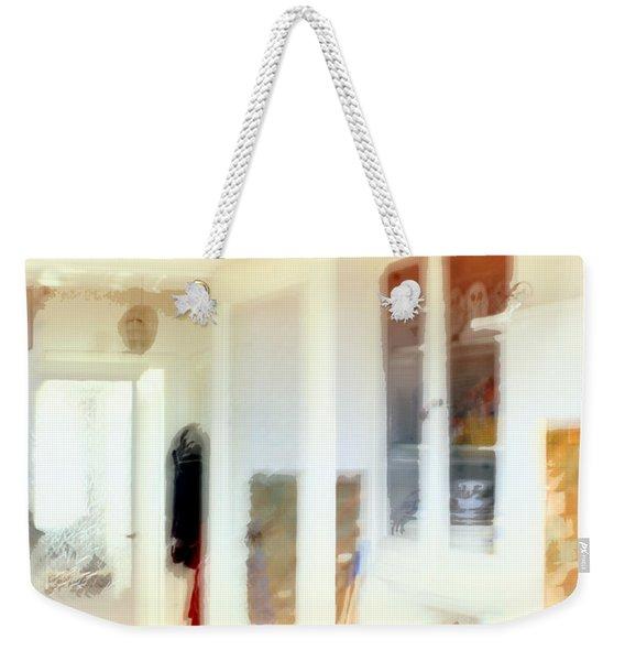2 The Hallway Weekender Tote Bag