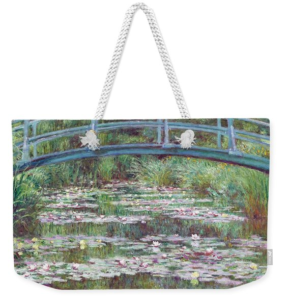 The Japanese Footbridge Weekender Tote Bag