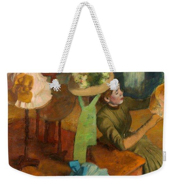 The Millinery Shop Weekender Tote Bag