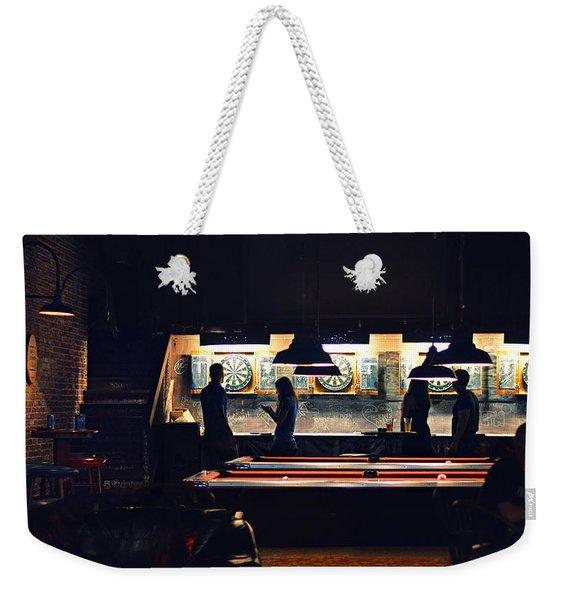 The Pub Weekender Tote Bag